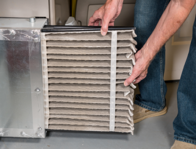 Replacing the filter in your Marion home can cut back on furnace repair costs.